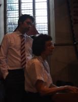 Accompanists rehearsing
