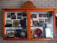 The Choir trophy cabinet