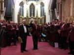 MD Ron Burrington life membership presentation annual concert
